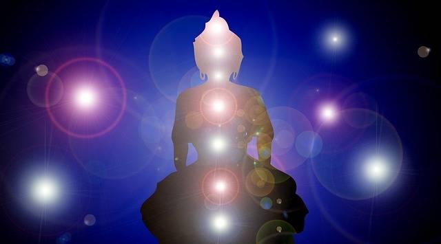 Wallpaper Buddha Chakras - Free image on Pixabay (413796)