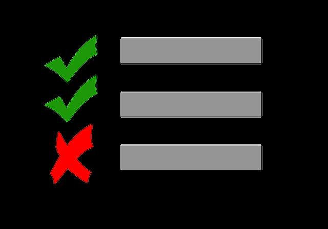 Checklist Test Check - Free image on Pixabay (413817)