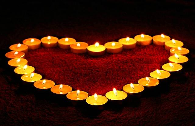 Candles Heart Flame - Free photo on Pixabay (425722)