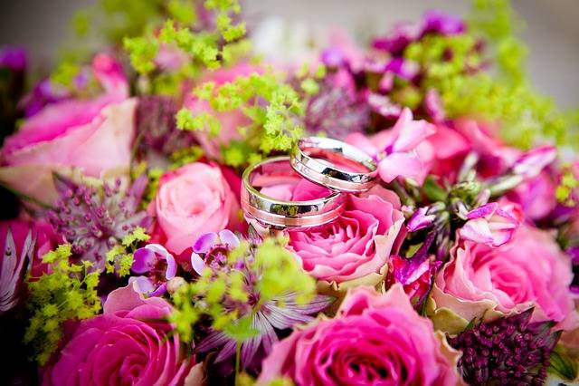 Flowers Wedding Rings - Free photo on Pixabay (439604)