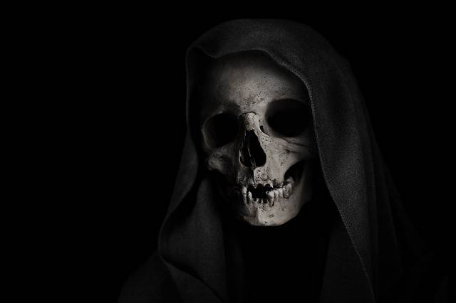 Grim Reaper Skull Death - Free photo on Pixabay (441547)