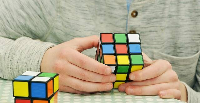 Magic Cube Patience Tricky - Free photo on Pixabay (444849)