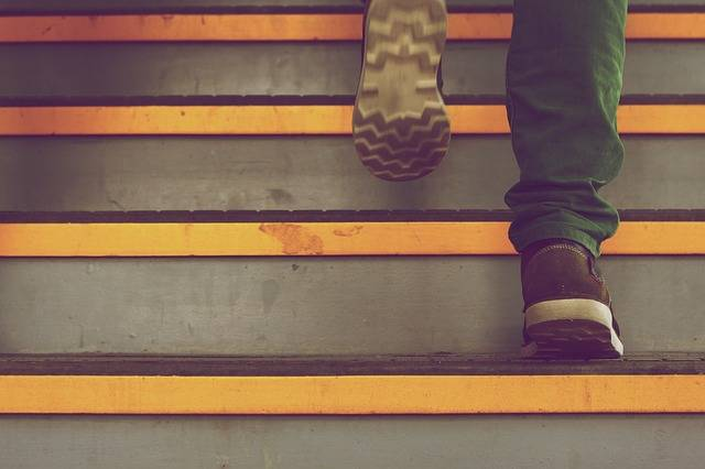 Steps Stairs Up - Free photo on Pixabay (446802)