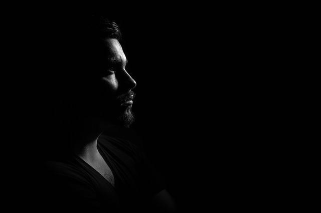 Man Portrait Gloomy - Free photo on Pixabay (456905)