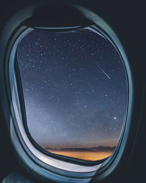 Airplane Window Milkyway - Free photo on Pixabay (457003)