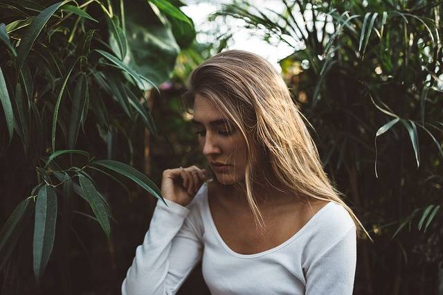 Blonde Woman Depressed - Free photo on Pixabay (462649)