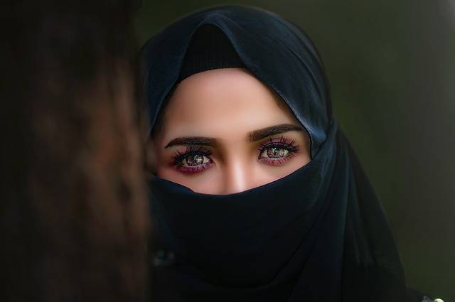 Hijab Headscarf Portrait - Free photo on Pixabay (463480)