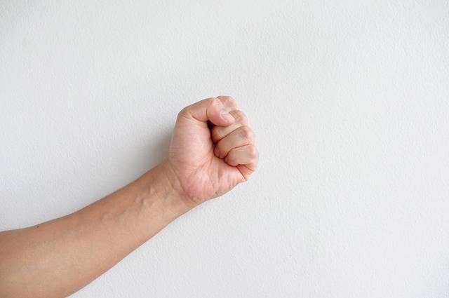 Hand The Fist Rock Paper Scissors - Free photo on Pixabay (463997)