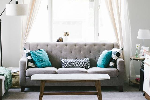 Living Room Sofa Couch Interior - Free photo on Pixabay (464326)