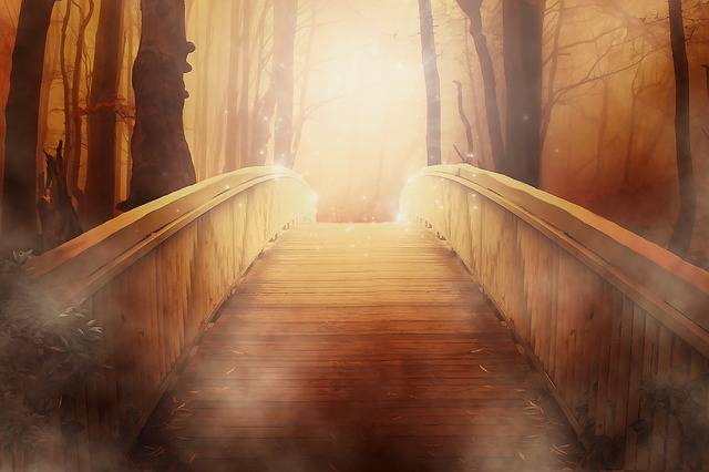 Bridge Golden Light - Free image on Pixabay (466750)