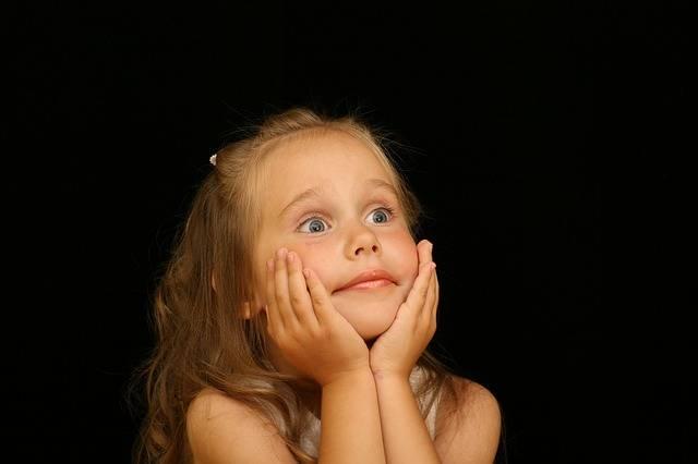 Girl Child Astonished - Free photo on Pixabay (470965)