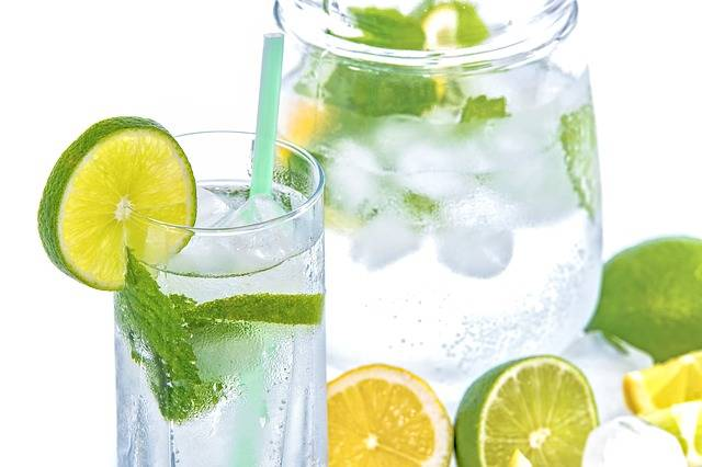 Mineral Water Lime Mint - Free photo on Pixabay (471061)