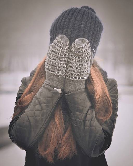 Covering Face Girly Winter Clothes - Free photo on Pixabay (471653)