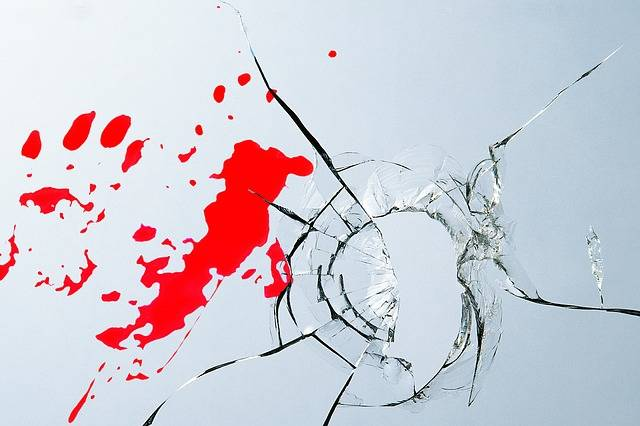 Burglary Glass Blood - Free photo on Pixabay (480585)