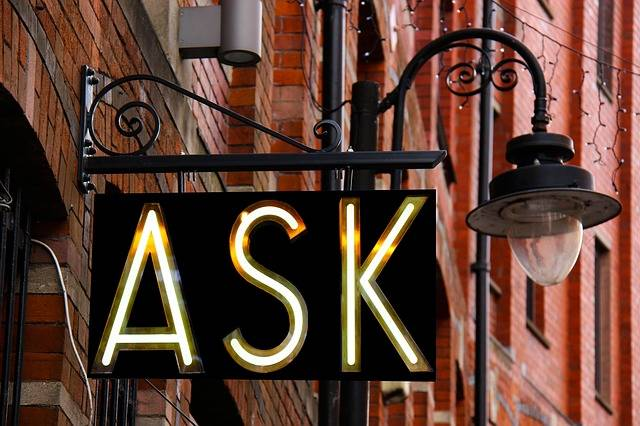 Ask Sign Design - Free photo on Pixabay (481593)