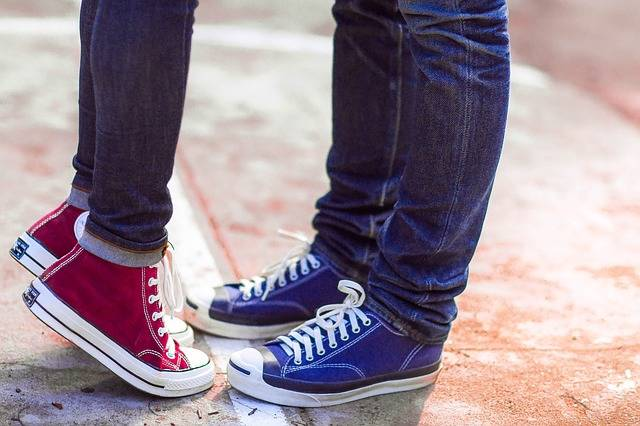 Converse Couple Love - Free photo on Pixabay (483021)