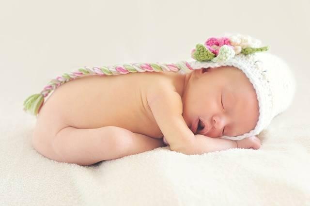 Baby Girl Sleeping - Free photo on Pixabay (486159)