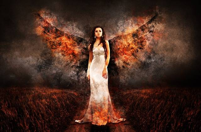 Angel The Witch Hell - Free photo on Pixabay (488202)
