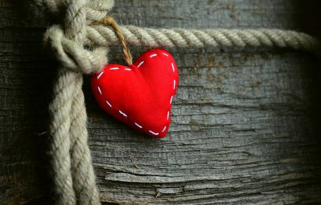 Heart Red Rope - Free photo on Pixabay (488227)