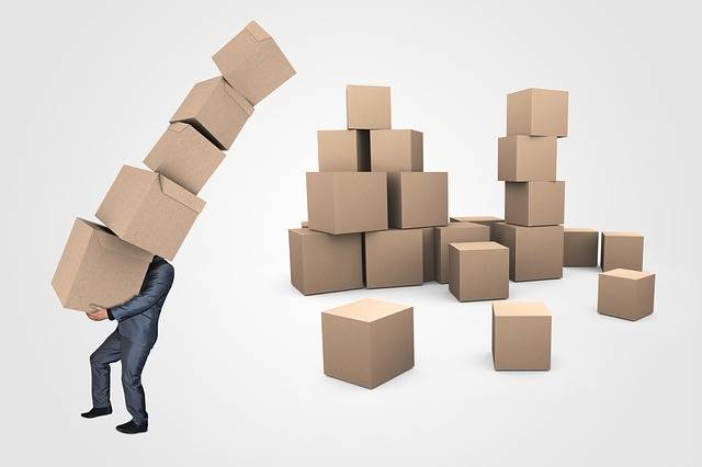 Businessman Boxes Transport - Free image on Pixabay (488439)