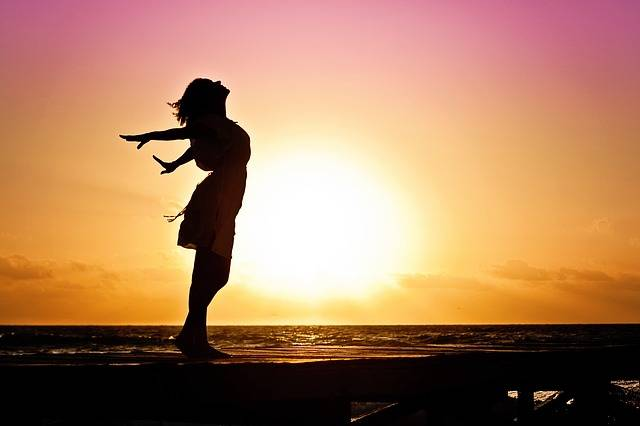 Woman Happiness Sunrise - Free photo on Pixabay (491246)