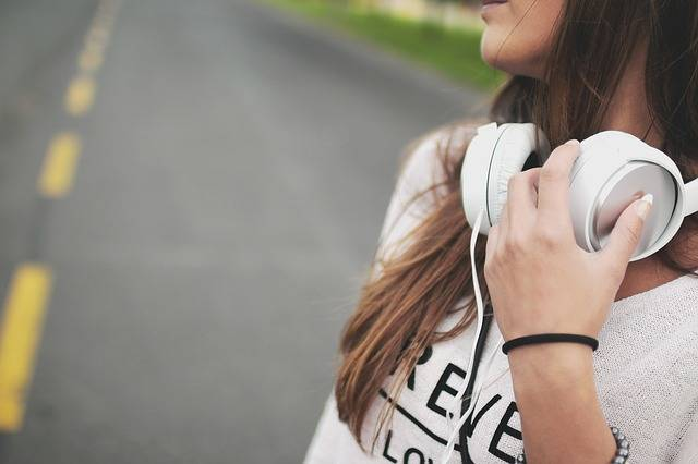 Girl Music Headphones - Free photo on Pixabay (493348)