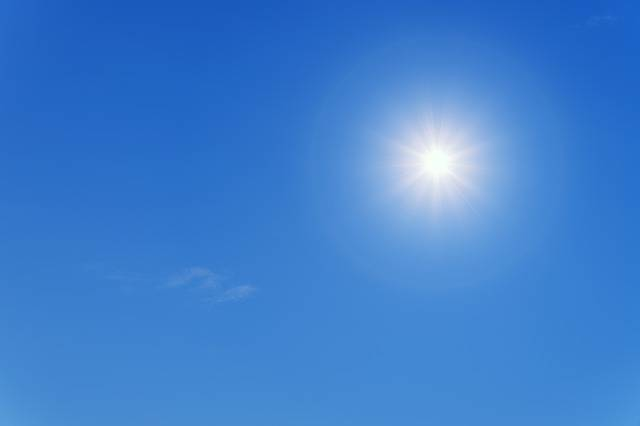 Sun Summer Blue - Free photo on Pixabay (505876)