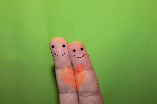 Finger Faces Heart - Free photo on Pixabay (509560)