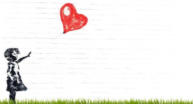 Girl Balloon Composing - Free photo on Pixabay (513954)