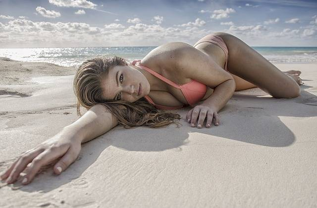 Beach Woman Bikini - Free photo on Pixabay (516187)