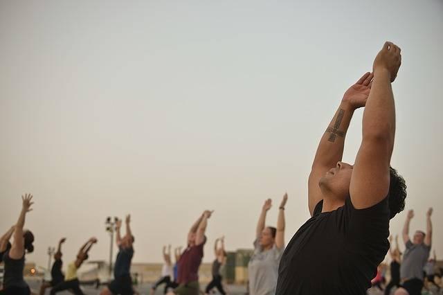 Men Yoga Classes Gym - Free photo on Pixabay (516380)