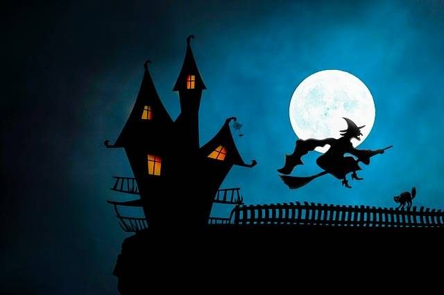 Halloween Witch'S House The Witch - Free image on Pixabay (517827)