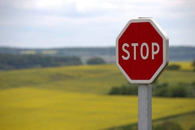 Stop Shield Traffic Sign Road - Free photo on Pixabay (528696)