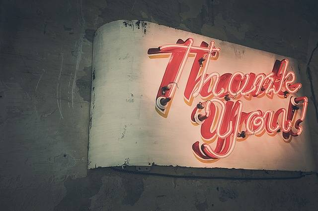 Thank You Neon Lights - Free photo on Pixabay (533636)