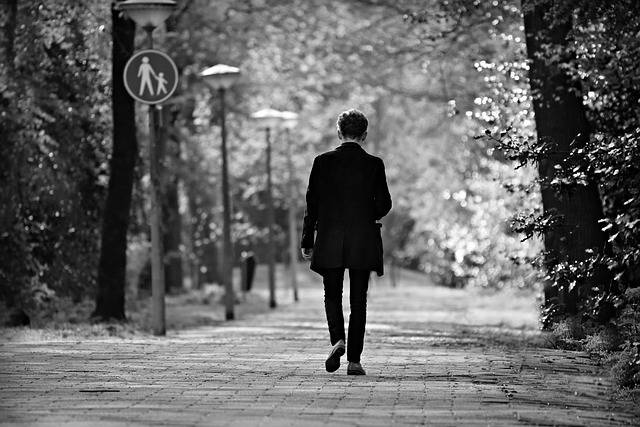 Young Man Solitary Walking - Free photo on Pixabay (534504)