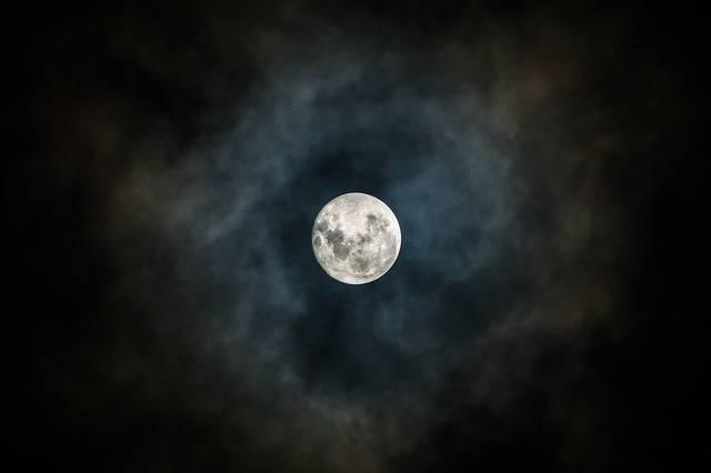 Moon Night Sky Lunar - Free photo on Pixabay (535939)
