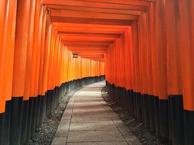 Shrine Inari Path - Free photo on Pixabay (536655)