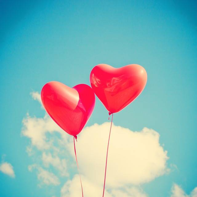 Balloon Heart Love - Free photo on Pixabay (542983)
