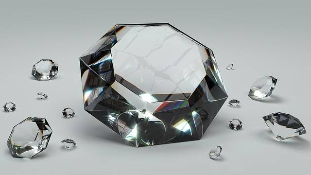 Diamond Brilliant Gem - Free image on Pixabay (542985)