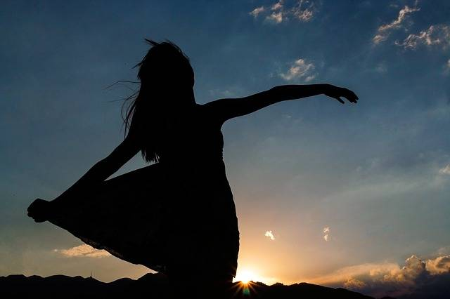Silhouette Woman Girl - Free photo on Pixabay (544241)