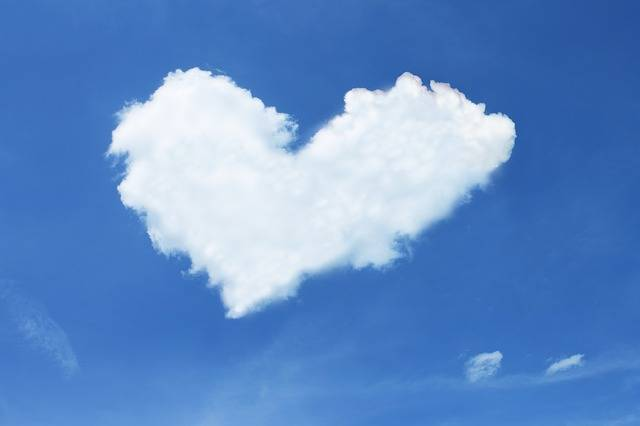 Cloud Heart Sky - Free photo on Pixabay (545725)