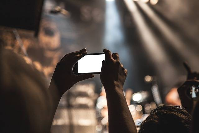 Smartphone Movie Taking Pictures - Free photo on Pixabay (548450)
