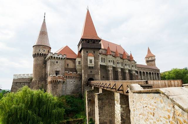 Castle Medieval Forest - Free photo on Pixabay (553078)