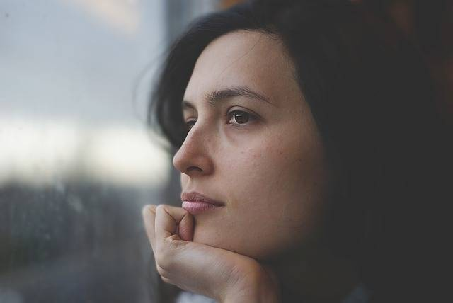 Woman Thoughtful Pensive - Free photo on Pixabay (567951)