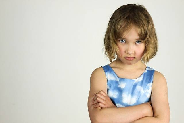 Child The Little Girl Anger Bad - Free photo on Pixabay (568850)