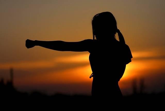 Karate Sunset Fight - Free photo on Pixabay (570119)