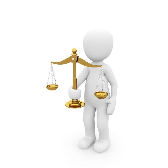 Horizontal Justice Right - Free image on Pixabay (572856)