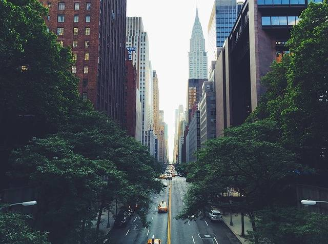 New York Chrysler Building Road - Free photo on Pixabay (575086)