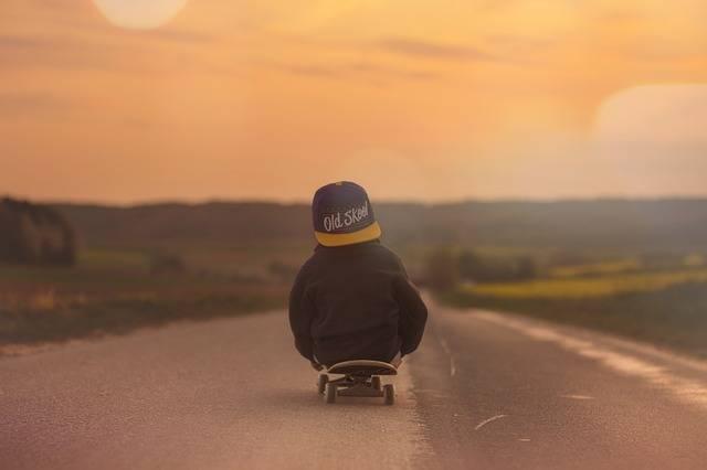 Skateboard Child Boy - Free photo on Pixabay (575372)