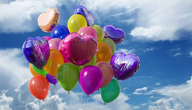 Balloons Party Colors - Free photo on Pixabay (575377)